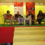 Suresh Kohli speaking at the Jaipur Literature festival, 2010