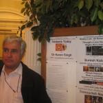 At the Screening of the Karan Singh film in London
