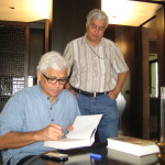 In conversation with Amitav Ghosh during the filming of 'Magic, Realism and After'