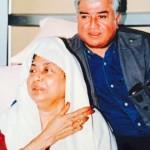 Suresh Kohli with Kamala Das